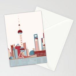 City Shanghai Stationery Cards