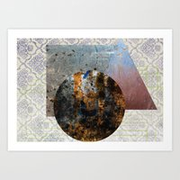 shape2 Art Print