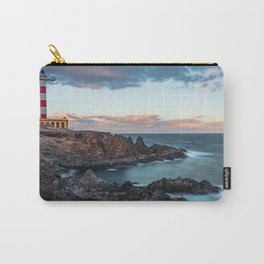 Arico Lighthouse with Long Exposure. Carry-All Pouch
