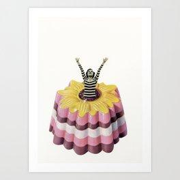 Blancmange Surprise Art Print