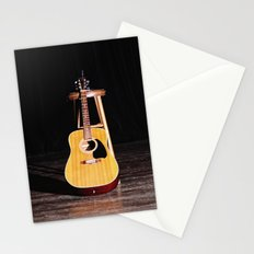The Silent Guitar Stationery Cards