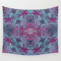 cosmic Wall Tapestries featuring Cosmic by 2Linesmeet