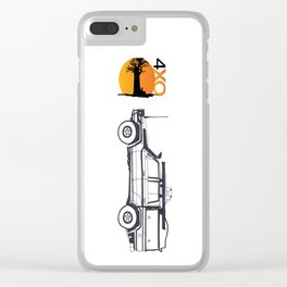Land Cruiser Pick-up Clear iPhone Case