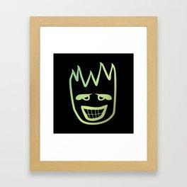 Fire face  #society6 #decor #buyart #artprint Framed Art Print
