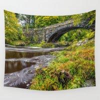 beaver Wall Tapestries featuring Beaver Bridge by Adrian Evans