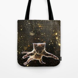 Kitten. In. Space. Tote Bag