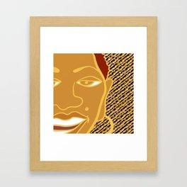Africa Calls To Me Too Framed Art Print