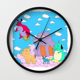 los peches Wall Clock