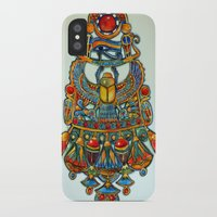 egypt iPhone & iPod Cases featuring Egypt - painting by oxana zaika