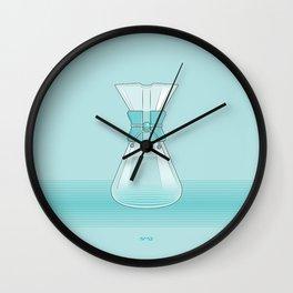 Coffee Maker Series - Chemex Wall Clock