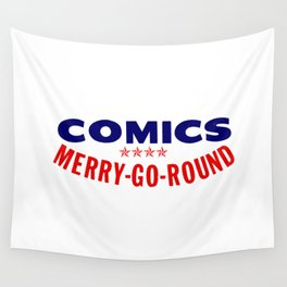 COMICS MERRY-GO-ROUND Wall Tapestry