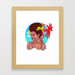 Bel Fanm Framed Art Print