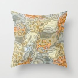 Topography 1 Throw Pillow