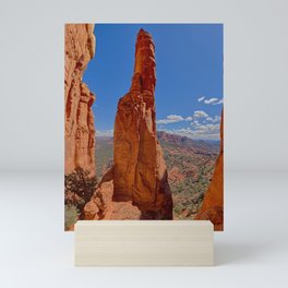 Center Spire of Cathedral Rock Mini Art Print