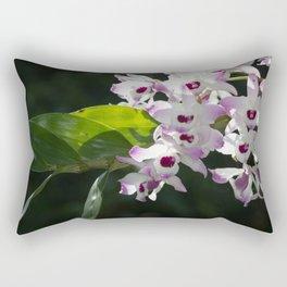 Orchid pattern Rectangular Pillow