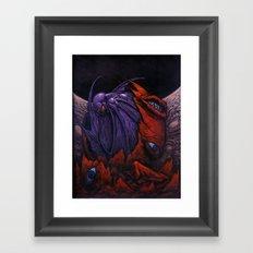Asakur Framed Art Print
