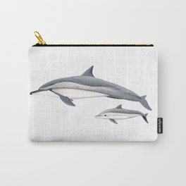 Long-beaked dolphin and baby Carry-All Pouch