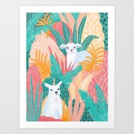 Lambicorns Art Print