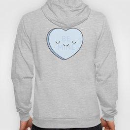Blue Sweet Candy Heart Hoody