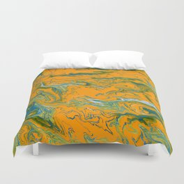 Topographie concepteur 1 portrait version Duvet Cover