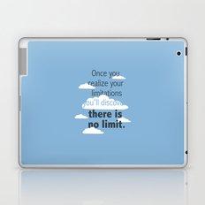 No Limit Laptop & iPad Skin