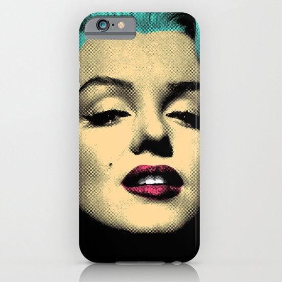 MARILYN BLUE iPhone & iPod Case