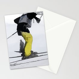 Natural High   - Ski Jump Landing Stationery Cards