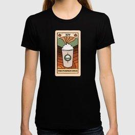 The Pumpkin Spice Tarot Card T-shirt