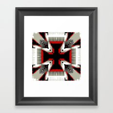 Power to the Nation Framed Art Print