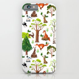 Forest Life iPhone Case