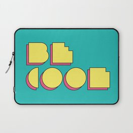 80s Be Cool Laptop Sleeve