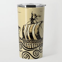 Viking ship 2 Travel Mug