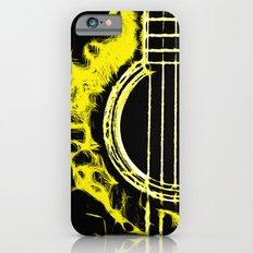 Pop Art Guitar Yellow iPhone 6s Slim Case