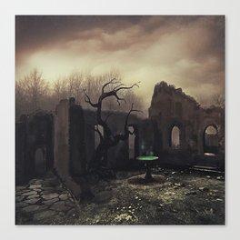 The magic fountain Canvas Print