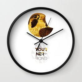 Tourner En Rond - Faucon Wall Clock