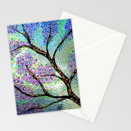 Lavender Branch Stationery Cards