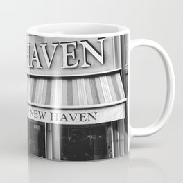 Le New Haven Restaurant - Black and White Version Coffee Mug