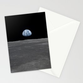 see the marble from the moon   space #05 Stationery Cards