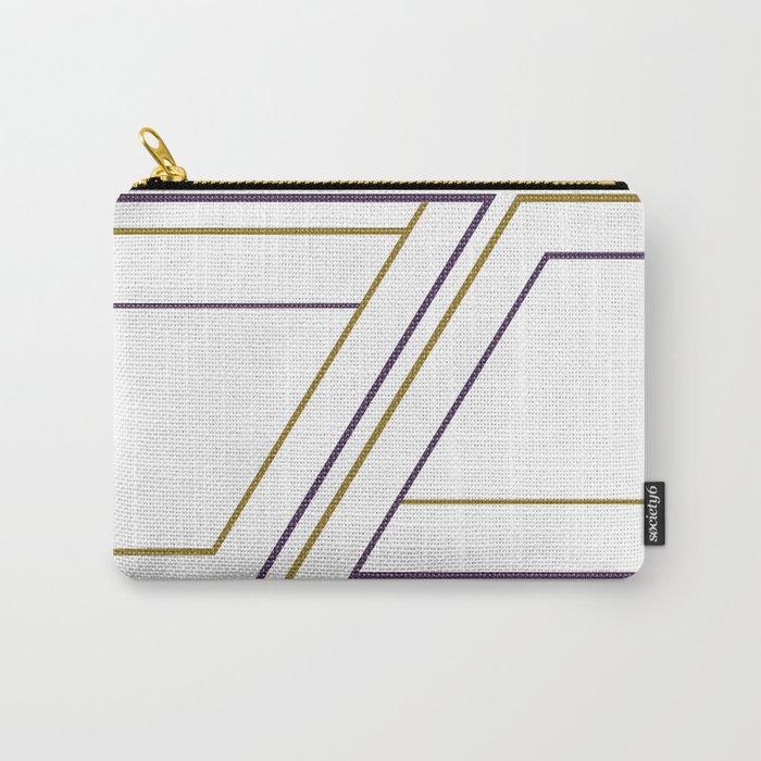 Geometry on white (abstract) Carry-All Pouch