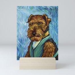 Crickett a go Gogh Mini Art Print