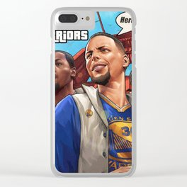 GSW story Clear iPhone Case