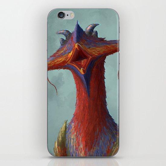 Beak portrait iPhone & iPod Skin