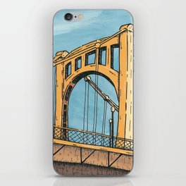 Roberto Clemente Bridge - Pittsburgh iPhone Skin