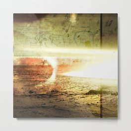 I Hear Mars is Nice this Time of the Year Metal Print