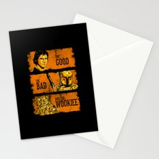 The Good, The Bad, and the Wookiee - New version Stationery Cards