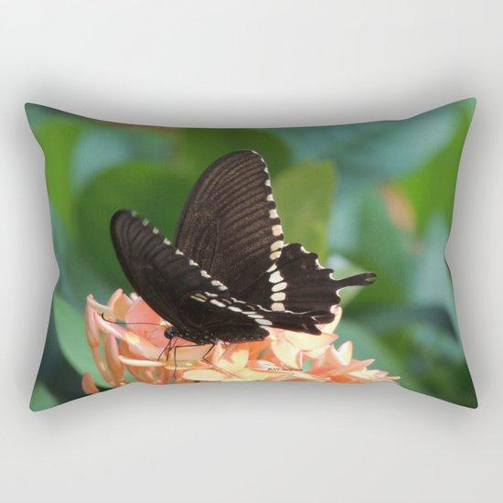 Kowloon Wings Rectangular Pillow