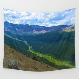 Views along the Bald Hills Hike in the Maligne Valley of Jasper National Park, Canada Wall Tapestry