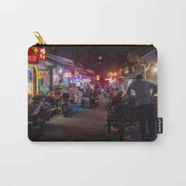 Shanghai Streets Carry-All Pouch