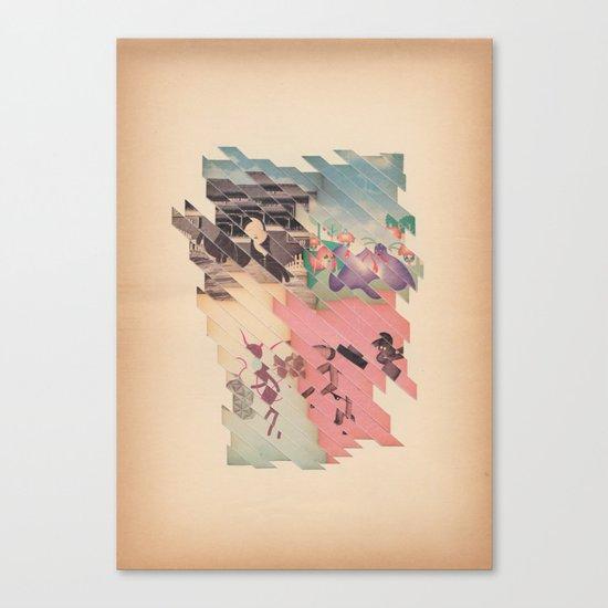s t r i s c i a t o Canvas Print