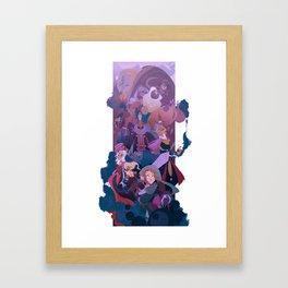 Boss Battle Framed Art Print